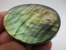 78g 100% Natural Labradorite QUARTZ CRYSTAL Stone specimen Rough Polished from Madagascar Works of art For Lover Home decoration(China)