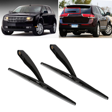 Rain Wiper Windshield Wipers Rubber wiperfor Lincoln MKX 2007-2013 Anti-aging wiper Rear Wiper(China)
