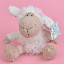 25-75cm White Color Sheep Stuffed Plush Toy for Cute Baby/ Kids Gift, Lamb Plush Doll Free Shipping