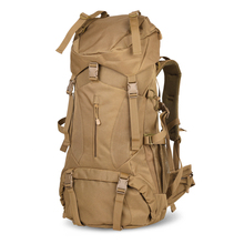 Military Army Tactical Molle Hiking Hunting Camping Rifle Backpack Bag Internal Frame Metal Hot Climbing Bags