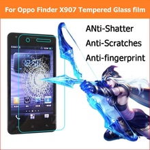 Screen Protector film For Oppo Find 5 Find 7 Find 7a X9007 Glass film For Oppo Find 5 Mini R827T Finder X907 Tempered Glass Film(China)
