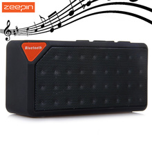 Portable Bluetooth Speaker Stereo Mini X3 Wireless Handsfree Loudspeaker With Mic For iPhone Samsung PC Support FM Radio USB TF