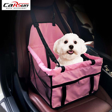 Pet Safety Seat Waterproof Carrier Car Seat Cover Car Styling Fold Pet Cat Dog Safety Travel Hammock Blanket Seat 4 Color(China)