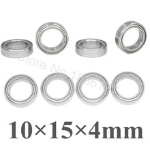 8pcs/Set Roller Ball Bearings 10x15x4mm 02138 For RC Model Cars 1/10 Traxxas 4612 HSP Atomic Himoto RC Cars
