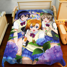 Free Shipping Anime Manga LOVE LIVE! School idol project Bed Sheet 150*200cm Bedsheet 002
