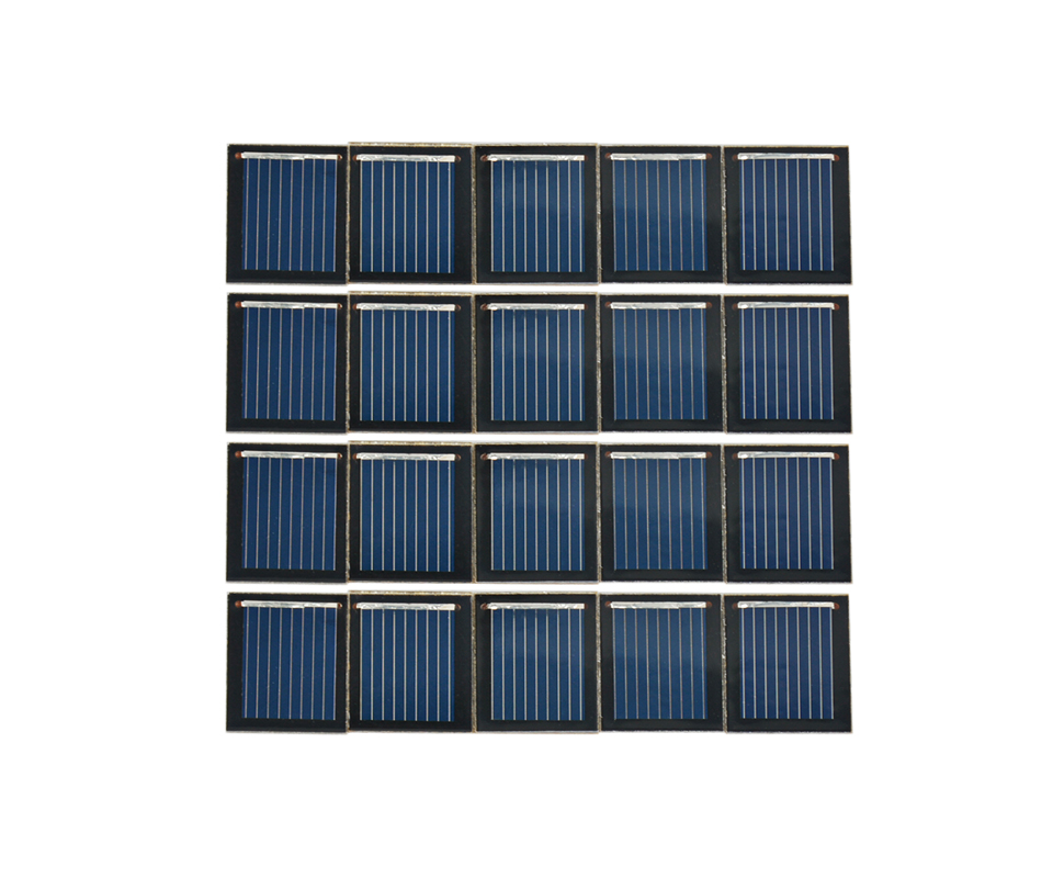 Aoshike pcs 0.5V 80MA polycrystalline silicon solar cell panel DIY technology Small production material 7