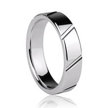 Engraved Customize Tungsten Jewelry Ring Wedding Bands Wedding Ring Men Ring Full Size 4-15(China)