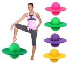 Hot Sale Sport Toy Fitness Bouncing Yoga Ball Jumping Bounce Exercise Balance Plateform Ball Balance Powerball For Child & Adult(China)