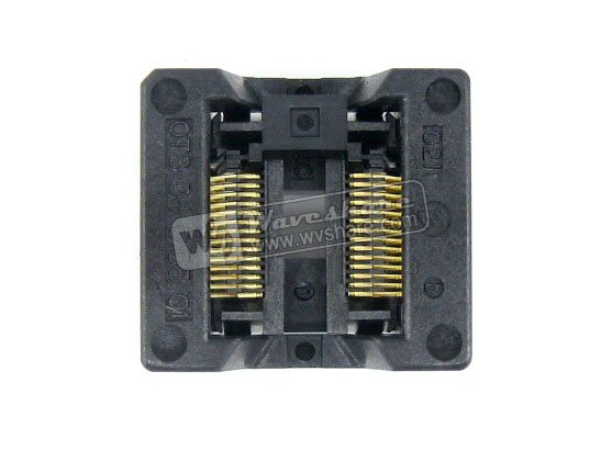 Modules SSOP28 TSSOP28 OTS-28(34)-0.65-01 Enplas IC Test Burn-in Socket Programming Adapter 0.65mm Pitch 5.3mm Width<br>