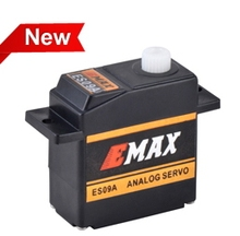 5pcs EMAX micro servo motor specific rc swash analog plastic gear servo 4.8V/6.0V 2.2/2.4Kgf.cm for 450 helicopter tail(China)