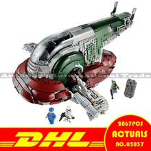 ZXS LEPIN 05037 2067pcs Star Wars Slave 1 UCS Model Building Kits figures Blocks Bricks Compatible 75060 SHIP BY DHL