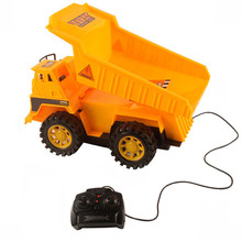 1:16 Remote Control Car Toy Car Truck Excavator Cable Remote Control Car carro de controle remoto battery powered cars(China)