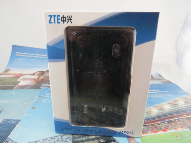 Original Unlock 100Mbps ZTE MF93E 4G LTE Pocket Wi Fi Router Support LTE FDD And TDD<br><br>Aliexpress
