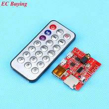 1 Pcs Bluetooth 4.1 audio module MP3 Decoding Board 3W sound card / car Bluetooth speaker amplifier DIY modified+Remote Control