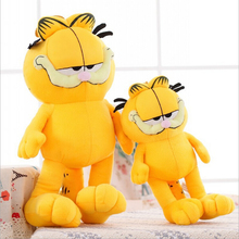 20CM New Arrival Cute Cartoon Figures Garfield Cat Plush Toys Soft Stuffed Dolls Gifts for Kids Girlfriends Christmas PT008(China)
