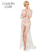 VE1019 Comeonlover New design pure white wedding vestido de noite see though sexy lenceria fashion lace babydoll lingerie sexy(China)