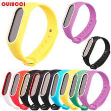 Buy Xiaomi Mi Band 2 Silicone Replacement Band Sports Wristband Black MiBand 2 Smart Wristband Bracelet Fitness Tracker for $3.49 in AliExpress store