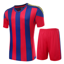 Professional Customize Adult/kids Breathable Soccer Set 2016 2017 Soccer Jerseys Uniforms Children Football Kit Shirt Tracksuit(China)