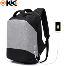 KAKA Multifunction USB Charging 15.6 Inches Laptop Backpack Men Fashion Anti theft Business Notebook Backpacks Waterproof Bags(China)