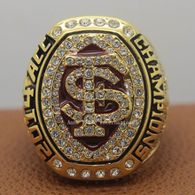 Men's Jewelry Replica 2014 Florida State FSU Seminoles ACC NCAA National Championship Ring Size 11(China)