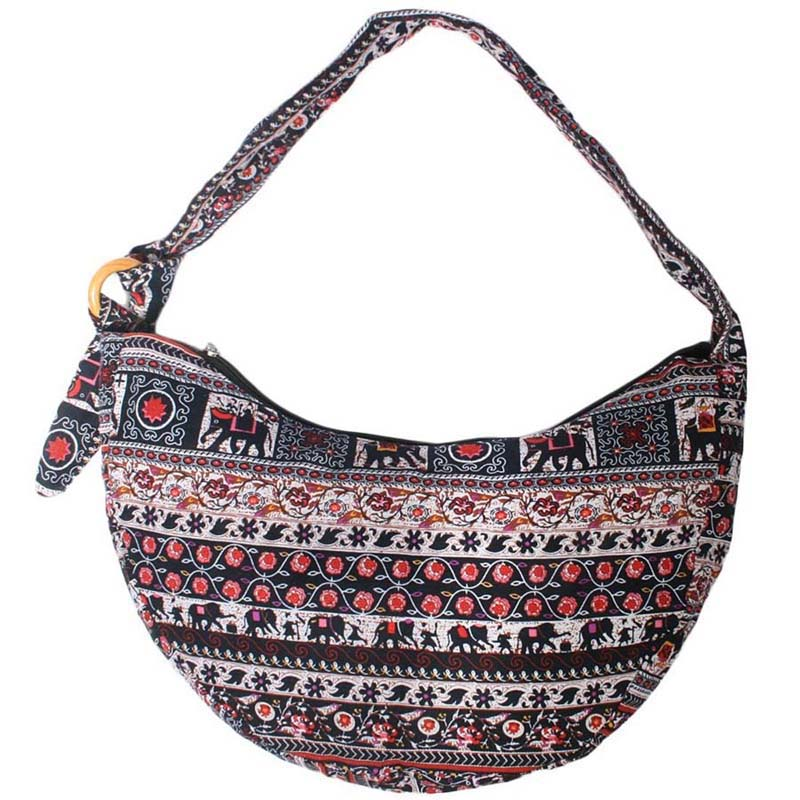 8806aad7e423 Bohemian Bag Ethnic Bag Hobo Bag Cotton Shoulder Bag Crossbody Bag Boho Bag  Sling Bag Hippie