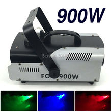 Hot sell high quality LED 900W Fog Machine Mini 900w RGB LED Smoke Machine Stage Special Effects dj equipment