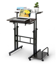 Standing Desk Computer Workstation Simple Modern Standing Laptop Folding Table Desktop Desk(China)
