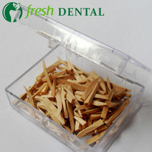 400PCS Dental wooden wedges colors maple four models environmental protection Smooth round edge dental materials SL531(China)