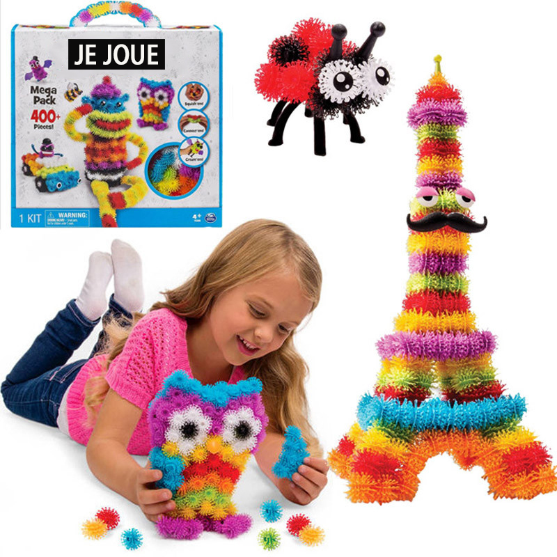 Bunchems- 400 Piece Mega Pack - Squish, Connect and Create DIY Kids Gift<br><br>Aliexpress