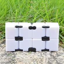 Buy New Creative Infinite Cube Infinity Cube Magic Fidget Cube Office Flip Cubic Puzzle Anti Stress Reliever Autism Toys ADHD for $2.07 in AliExpress store