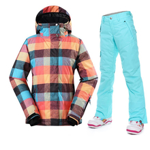 Shop Best Deals On Women Skiing & Snowboarding Waterproof And Windproof Outerwear Clothing PANT And JACKET Cheapest Price