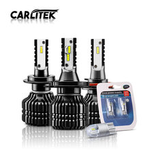 CARLitek 52W/set H11 H7 LED H4 H1 H3 9005/HB3 9000LM CSP Car Headlights Bulbs Auto Fog Lamps 12V Play & Plug Lights Source - Professional Led lights for Motos Store store