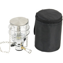2017 New Stainless Steel Gas Light Outdoor Camping Outdoor Mini Gas Lantern Outdoor Camping Lantern Gas Light Tent Hanging Lamp(China)