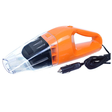 Car Vacuum Cleaner Wet And Dry Dual-use Super Suction 5meter 12V,100W Tile Vacuum Cleaner Orange