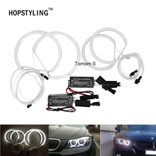 car headlight CCFL angel eyes for BMW 3 series E46 Compact E83 X3 car styling Halo Ring Lamp Bulb 131*106mm