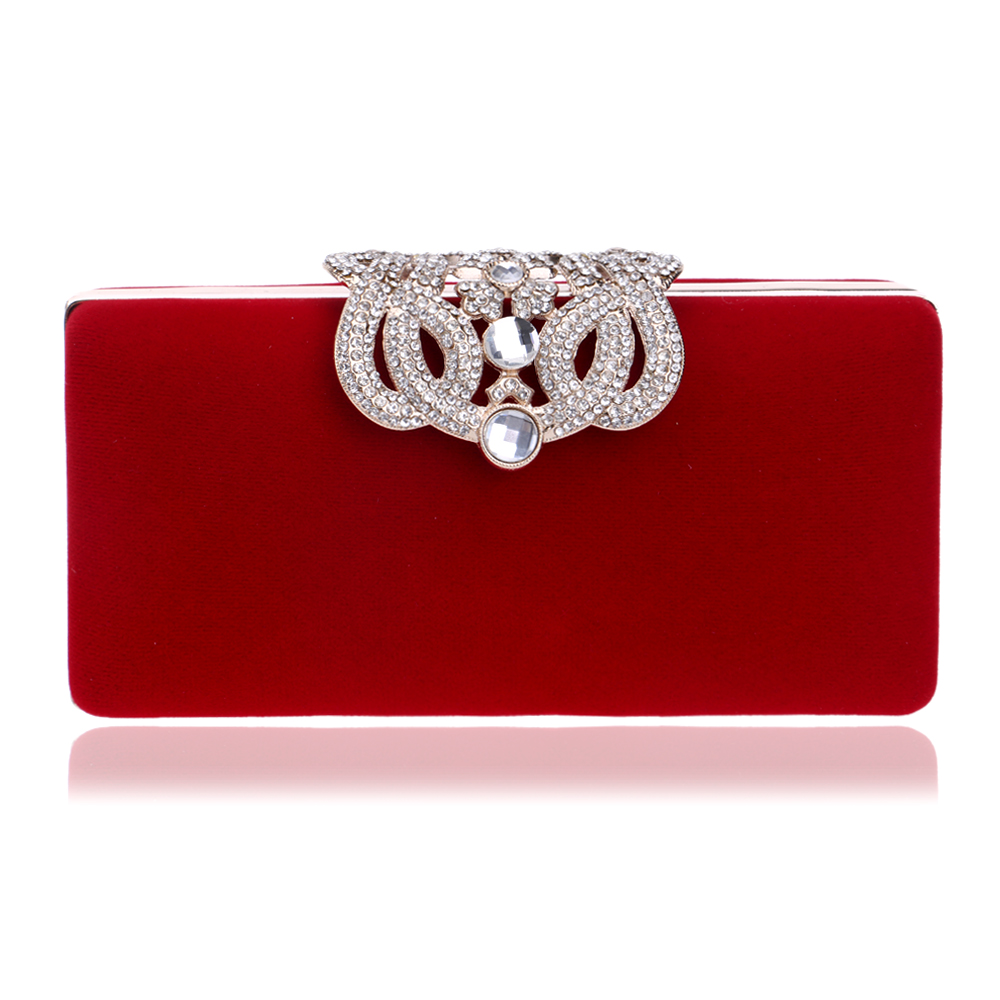 Women Clutch Evening Bags Crown Rhinestones Evening Bag Diamond Luxury Wedding Bridal Handbags With Shoulder Chains Bag<br><br>Aliexpress
