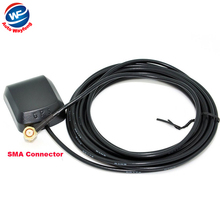 Hot Selling Factory Price Car Gps Antenna SMA Connector Cable Length 3M Frequency 1575.42MHZ + Free shipping