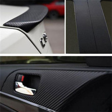 Window Foils & Solar Protection 3D Carbon Fiber Vinyl Car DIY Wrap Sheet Roll Film Sticker Decal Support US Overseas Warehouse(China)