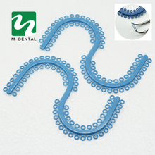 1 PC(70 Rings) High Quality Dental Orthodontic Materials S type Separate Ligature Ties Dentist Products S ligature Ring