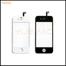 YUEYAO Front Glass Lens +Touch Screen Digitizer Replacement For Mobile Phone Touch Screen Case For iPhone 4 4s Touch Panal