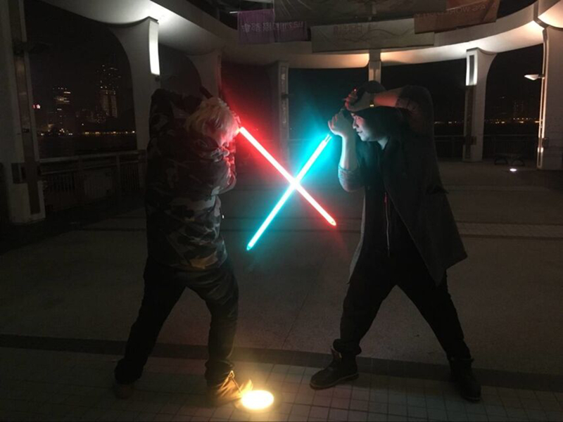 11 Colors Lightsaber Boy Gril Toy Flashing Sword RGB Sword Cosplay Interesting Star Laser Emitting Outdoor Creative Children Toy (14)