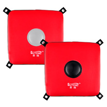 New SUTEN Brand Fitness Faux Leather Wall Target Solid Sanda Fighting Sandbag 30*30*5cm Wall Boxing Training equipment Target