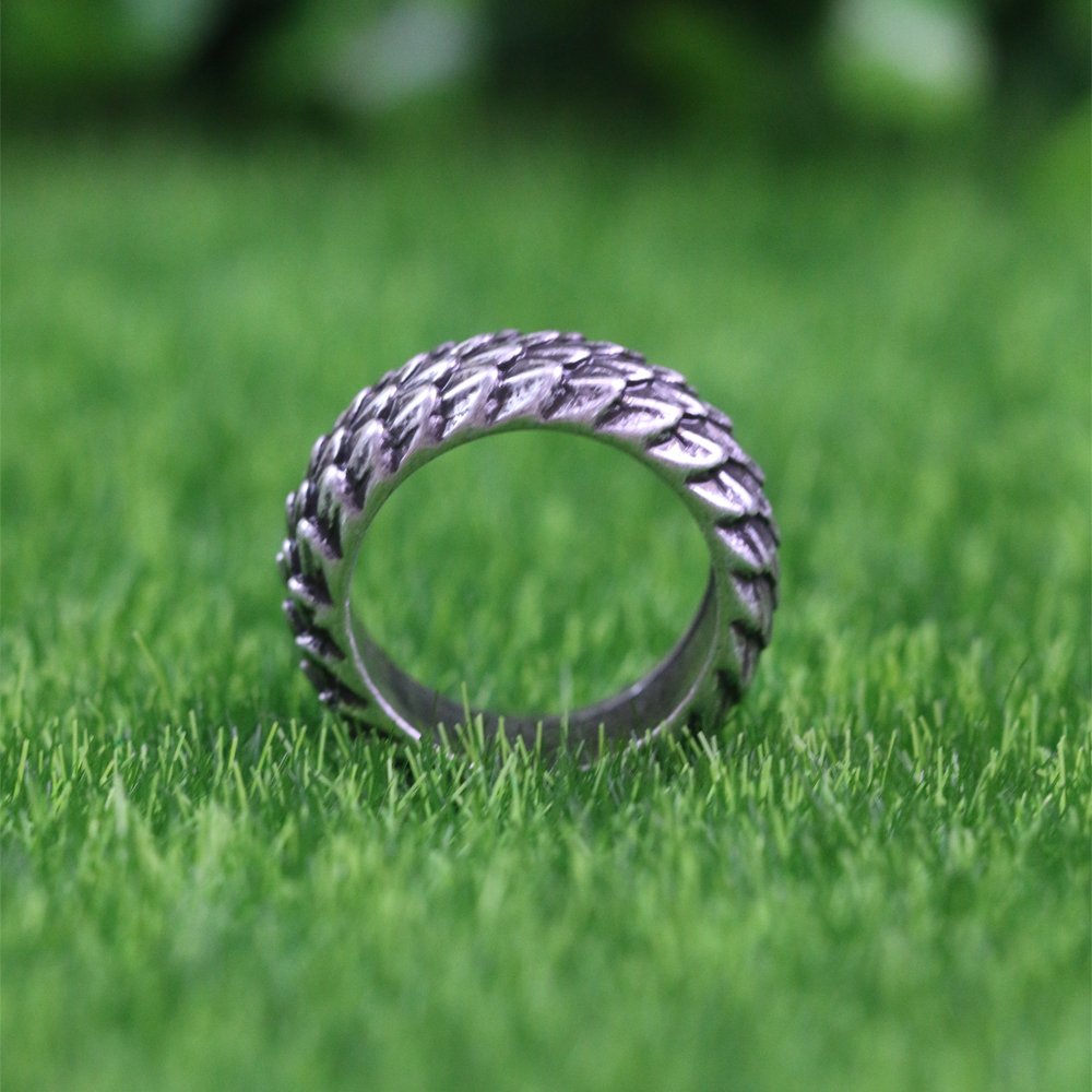 Dragon Scales Amulet Ring