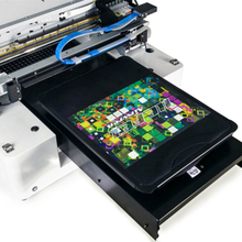 A3 size Digital T-shirt printer Direct to garment textile printing machine(China)
