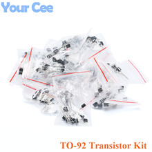 TO-92 Transistor Assorted Kit for S9011 S9012 S9013 S9014 S9018 A1015 C1815 A42 S8550 2N3906 2N3904 16kinds*10pcs=160 pcs/1 lot