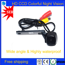Free Ship HD CCD Car Rear View Camera Reversing for VW Touran Passat Jetta Caddy Golf Plus Multivan T5 Transporter Skoda Superb(China)