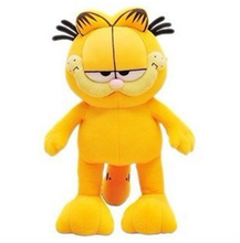 Cute Plush Garfield Cat Plush Stuffed Toy High Quality Soft Plush Figure Doll 20cm