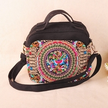 Ethnic Bag 2015 New Ethnic Embroidery Bags Handmade Canvas Vintage Boho Bag Dslr Camera Bag For Women Bolsos Etnicos Bordados