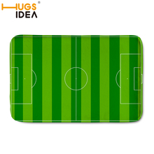 HUGSIDEA Custom Football Carpet Floor Mats Soft Rugs And Carpets For Home Living Room Kids Bedroom Alfombra Infantil Dormitorio