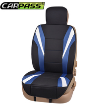 Car-pass Summer Luxury Two Color Seat Cover universal car seat covers Red Blue Whole Car Seat cushion Car Accessories(China)